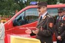 2008-08-01 Feuerwehrheuriger und Fahrzeugsegung